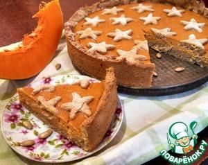 Рецепт Пряный тыквенно-творожный пирог