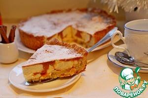 Рецепт Тыквенно-творожной тарт