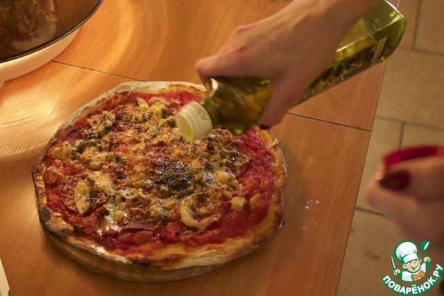 173Пицца итальянская без дрожжей рецепт