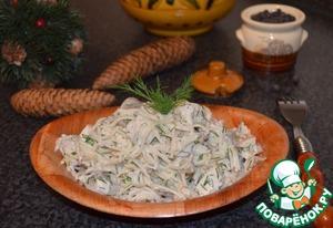 Рецепт Салат с куриной грудкой и сельдереем