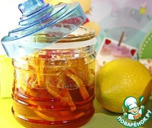 Рецепт Лимонно-имбирный конфитюр