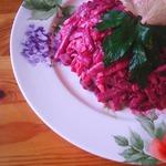 Свекольный салат Фигура