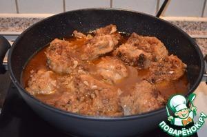 Рецепт Курица в кисло-остром соусе