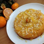 Творожный пирог с айвой
