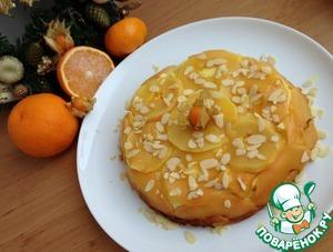 Рецепт Творожный пирог с айвой