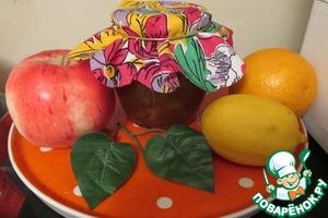 Рецепт Яблочно-цитрусовый джем