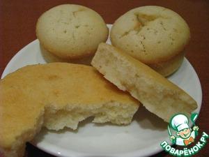 Рецепт Лимонные булочки-кексы