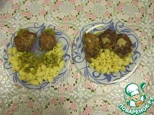 Рецепт Нежные котлетки (мясные оладушки)