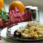 Апельсиновое рагу с картофелем и курицей