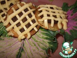 Рецепт Печеночные котлетки в кабачках