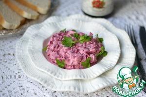 Рецепт Свекла в яично-клюквенном соусе