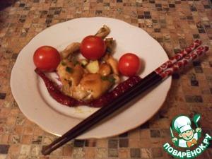 Рецепт Лягушачьи лапки по-кантонски