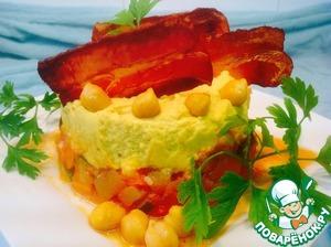 Рецепт Овощное рагу с нутом и хрустящим беконом