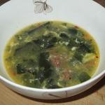 Суп из морской капусты с тушенкой