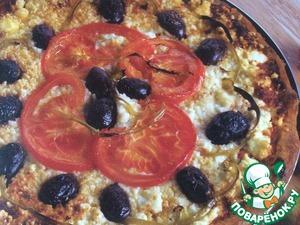 Рецепт Пицца с фетой по‑гречески