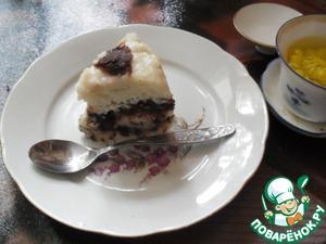 """Рецепт Сладкий пирог на пару """"Чунъян"""""""
