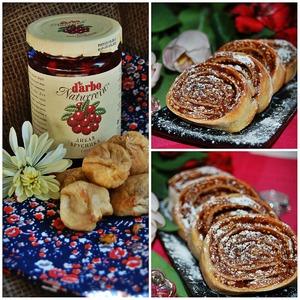 Рецепт Печенье с инжиром и брусничным соусом D'arbo