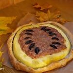 Пирог-тыква с мясной начинкой