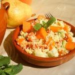 Салат из кус-куса и овощей