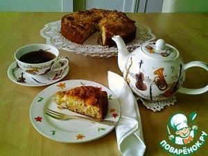 Рецепт Кокосовый пирог на сыворотке