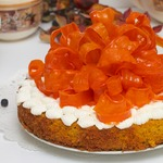 Осенний праздничный пирог