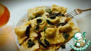 Рецепт Равиоли-пельмени по-итальянски