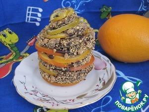 Рецепт Карамелизованные Апельсины и Лимоны