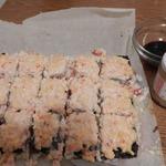 Запеченный суши торт