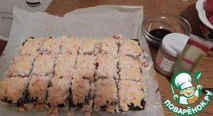 Рецепт Запеченный суши торт