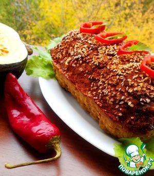 Рецепт Мясной хлеб с тыквой и виноградом