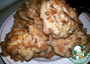 Рецепт Мясо по-албански с чесноком