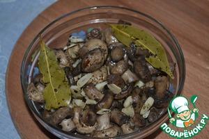 Маринованные грибы рецепт с фотографиями