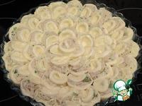 """Капустно-мясной пирог """"Хризантема"""" ингредиенты"""