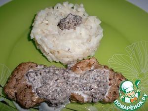 Рецепт Свинина с грибным соусом