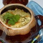 Жаркое из свинины с картофелем в соусе