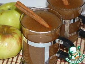 Рецепт Яблочный кисель в мультиварке