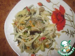 Рецепт Квашеные овощи