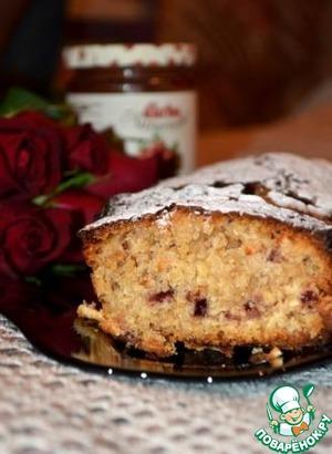 Рецепт Клюквенный кекс