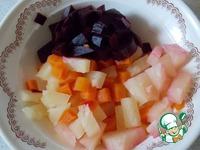 Салат из свеклы с ананасом ингредиенты