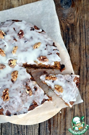 Рецепт Пирог из осенних овощей с орехами и семечками