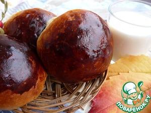 Рецепт Творожные булочки «Нежные пушистики»