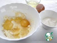 Пирог с творогом и клюквенным соусом ингредиенты