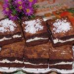 Шоколадно-творожное печенье