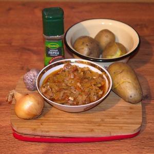 Рецепт Свиная шейка по-венгерски (с квашеной капустой)
