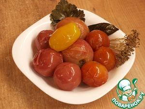 Рецепт Квашеные помидоры
