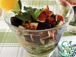 Рецепт Витаминный салат с моцареллой