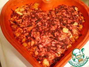 Готовим Свекольная запеканка с яблоками вкусный рецепт приготовления с фото