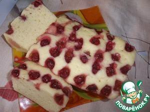 Вишнёвый кекс в микроволновке простой пошаговый рецепт приготовления с фотографиями как приготовить