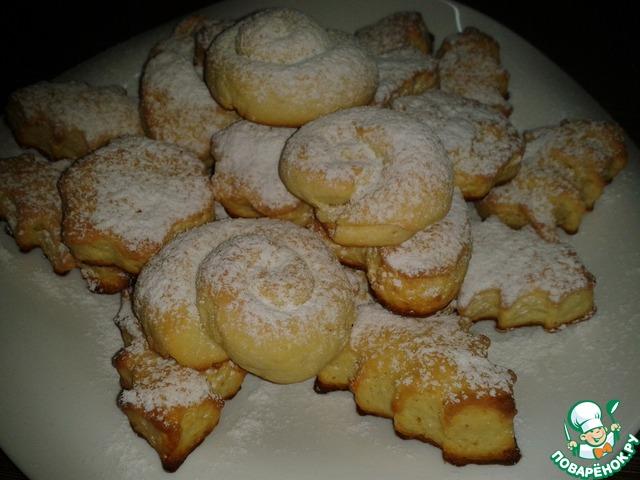 Творожные печенья пышные рецепт