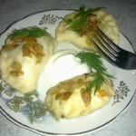 Вареники картофельно-капустные на пару